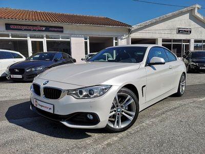 usado BMW 420 d aut. coupe Line Sport 190cv Pack M
