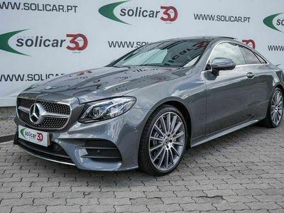 usado Mercedes E350 AMG Line Coupé 9G-T Cx. Aut. (258CV)