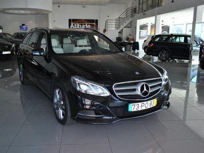 usado Mercedes E300 AVANTGARDE BLUETEC HYBRID