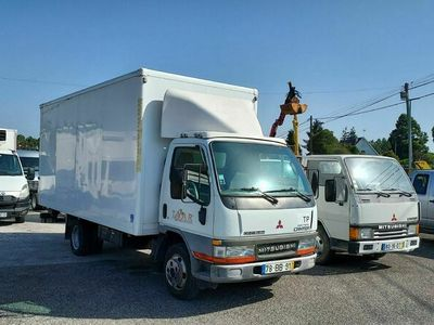 usado Mitsubishi Canter 3.0 130cv 3500kgs contentor
