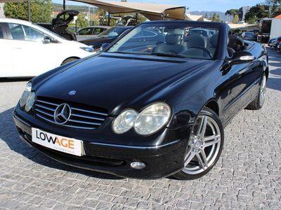 usado Mercedes CLK200 Kompressor Elegance Cabrio