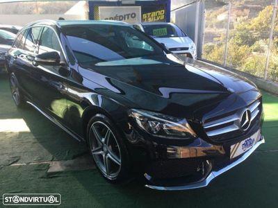 usado Mercedes C200 ClasseBlueTEC AMG (136cv) (5p)