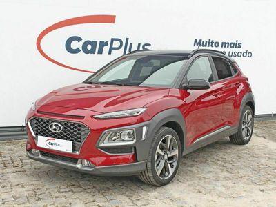 usado Hyundai Kona 1.0 T-GDi Premium+Vermelho 2020