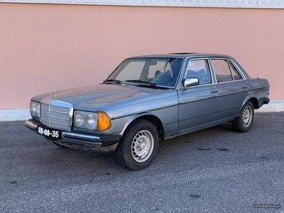 brugt Mercedes 300 d w123