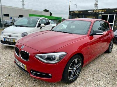usado BMW 118 D Sport Line Red