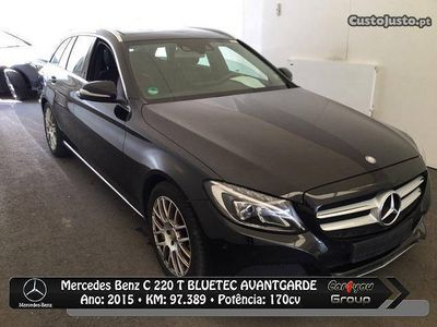 usado Mercedes C220 Avantgarde Bluetec