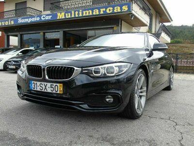 usado BMW 420 Série 4 d 190cv Cabrio Line Sport AUTO