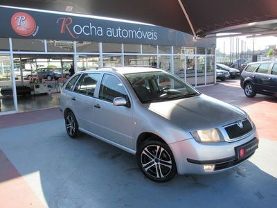 used Skoda Fabia Break 1.2 65cv Impecável