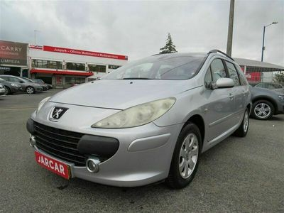 usado Peugeot 307 SW 1.6 HDi Black & Silver