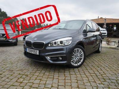 usado BMW 218 Gran Tourer Série 2 - D 7L Line Luxury Auto (GPS)