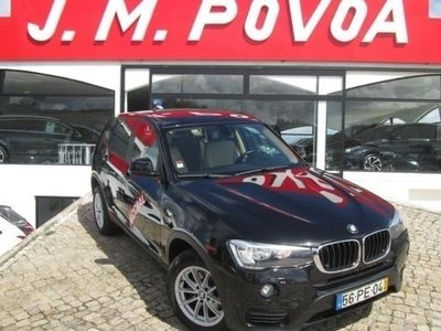 used BMW X3 20 d xDrive