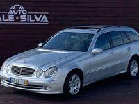 usado Mercedes E270 2.7 diesel 176 cv caixa automática Avangard