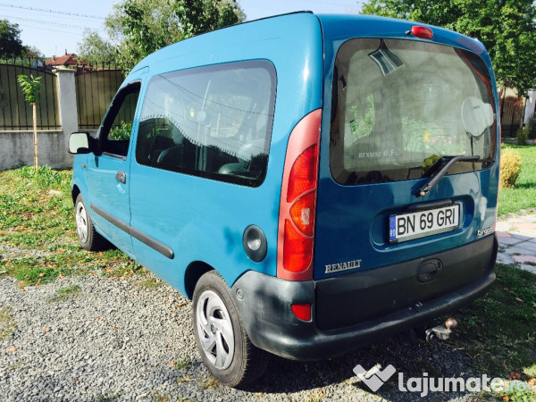 v ndut renault kangoo 1 9 d ma ini second hand de v nzare. Black Bedroom Furniture Sets. Home Design Ideas