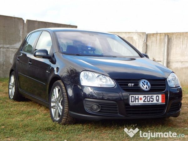 v ndut vw golf v gt 2 0 tdi 170 cp ma ini second hand de v nzare. Black Bedroom Furniture Sets. Home Design Ideas
