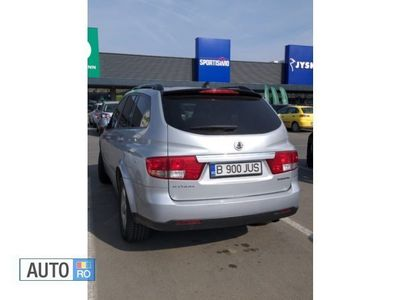 second-hand Ssangyong Kyron diesel