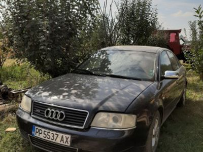 second-hand Audi A6 S-line, an 2001, 2.5tdi, 155cp