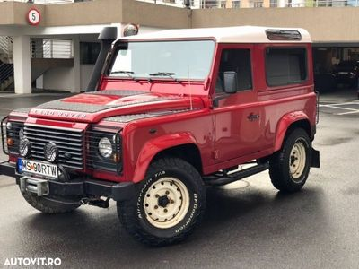 second-hand Land Rover Defender
