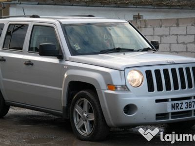 second-hand Jeep Patriot 4x4 - an 2008, 2.0