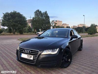 second-hand Audi A7 Quattro // 3.0 TDi 245 CP // Suspensie Pneumatica // Scaune Comfort A8 // Led-uri Fata/Spate