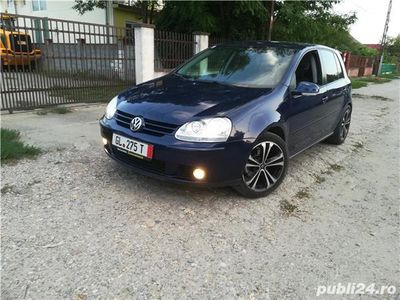 second-hand VW Golf V diesel 1.9 2008 perfecta stare ieftin