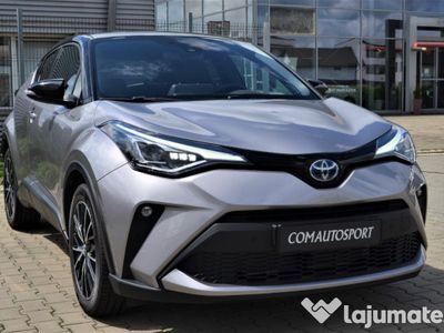 second-hand Toyota C-HR hybrid classy bi tone