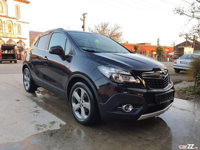 second-hand Opel Mokka 1.7 CDTi 130 Cp 4x4 2013 Euro 5 Xenon Piele