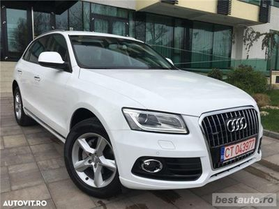 second-hand Audi Q5 S-Line Exterior // 2.0 TDi 190 CP // DayLight Led // Navigatie Mare 3D // Lumini Ambientale