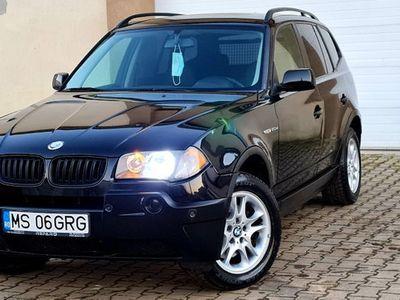 second-hand BMW X3 2.0D X-DRIVE 4X4 150CP