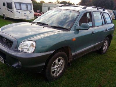 second-hand Hyundai Santa Fe 2004