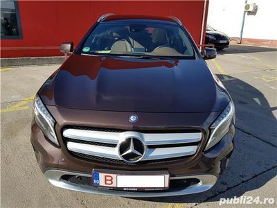 second-hand Mercedes GLA250 - 4MATIC, 205 CP, AUTOMAT, XENON, PIELE, PANORAMIC - 2014