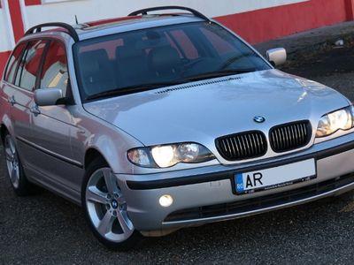 second-hand BMW 320 E46 d Touring Facelift - an 2003 luna 10, 2.0d (Dies