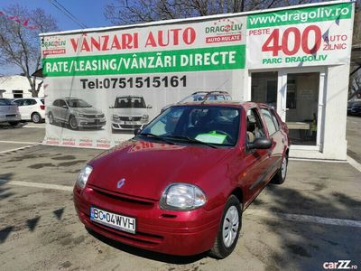 second-hand Renault Clio 1.4Benzina,2001,Finantare Rate