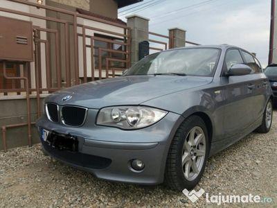 second-hand BMW 118 d 122cp unic proprietar