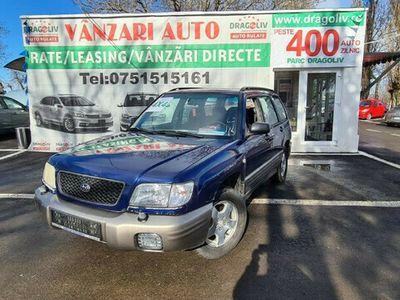 second-hand Subaru Forester 2.0 Benzina,Trapa,Finantare Rate