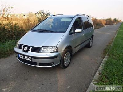 second-hand Seat Alhambra 7 locuri, 2.0 TDI Diesel, an
