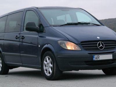 second-hand Mercedes Vito 111 CU CLIMA 9 locuri - an 2006, 2.2 Cdi (Die
