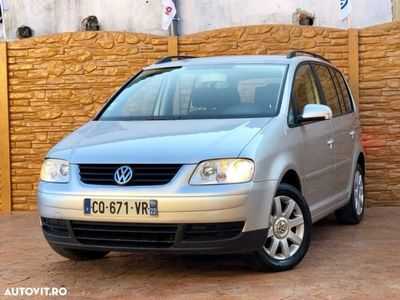 second-hand VW Touran An 2007 motor 1900 TDI Euro 4 posibilitate rate