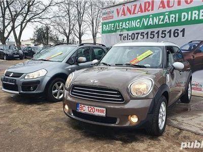 second-hand Mini Countryman 1.6 diesel-2011-Euro 5-Finantare rate