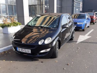 second-hand Smart ForFour all Black