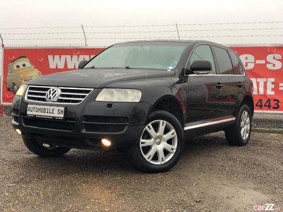 second-hand VW Touareg 2006, 2.5 diesel, piele, trapa, xenon =RATE=