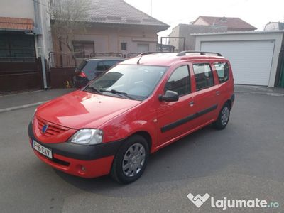 second-hand Dacia Logan MCV 2008 5 locuri, 156.000 km