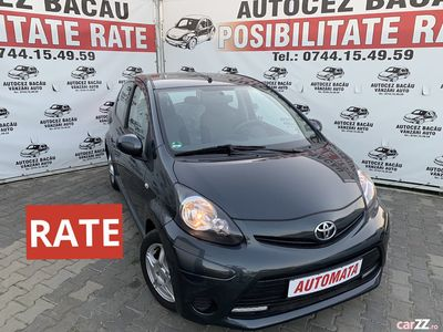 second-hand Toyota Aygo 2014-EURO 5-AUTOMATA-Posibilitate RATE-