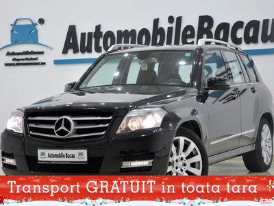 second-hand Mercedes GLK220 CDI 4Matic 170CP AUTOMATA 2011 EURO 5