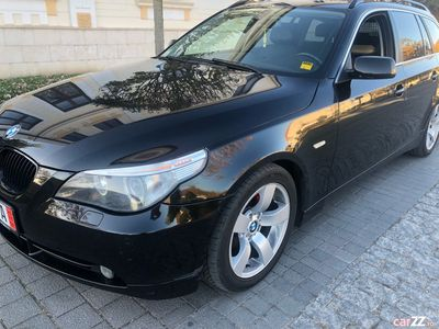 second-hand BMW 525 e60 impecabil inscris in Romania!