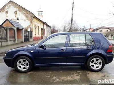 second-hand VW Golf IV an 2003 benzina 1.4 euro.4 imp germania