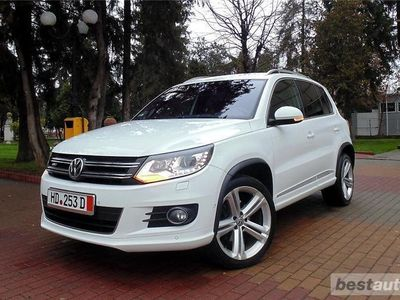 second-hand VW Tiguan R-LINE 2016 Extra-Full 4X4