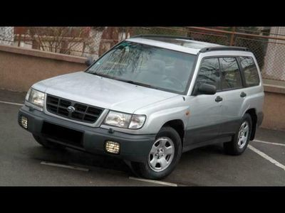 second-hand Subaru Forester 4x4 AWD