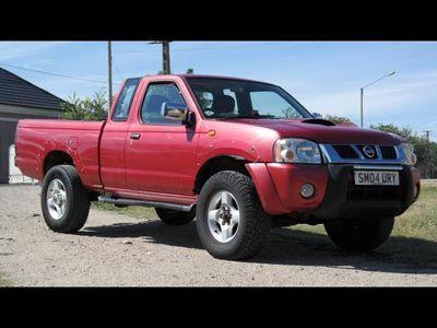 second-hand Nissan Navara 4X4 - an 2004, 2.5 Dci (Diesel)