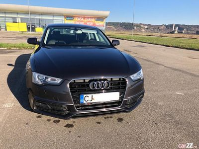 second-hand Audi A5 2014 2.0 SLine plus interior exterior