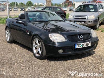 second-hand Mercedes SLK200 2000, 2.0 benzina+GPL
